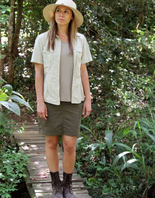 Complement the design of your skorts with a pair of Rufiji™ APU Boots and the Mara&Meru™ Indie Hat for a functional, striking safari outfit.