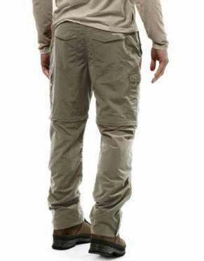 These lightweight convertible trousers make packing a breeze and offer sun protection and insect defence.