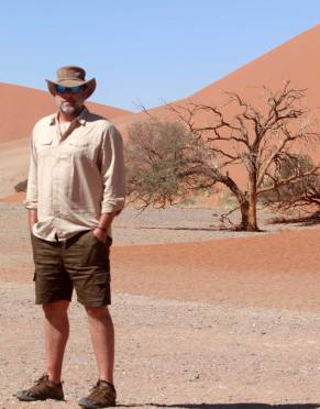 These shorts have been safari tested, climbing famous Dune 45 in Sossusvlei, Namibia.