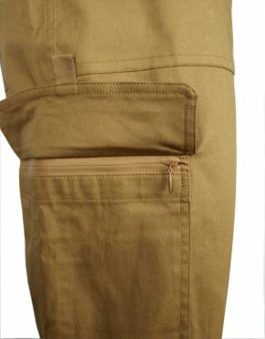 These trousers have two zipped cargo pockets - the perfect way to secure your belongings for travel and time outdoors.