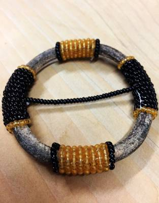 Distinctive Masaai beadwork available in a range of colour combinations.