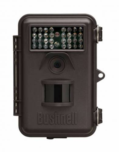 The Bushnell Trophy Cam is small (9x14cm) and lightweight - perfect to pack away in your suitcase for a new take on how to see wildlife on safari.