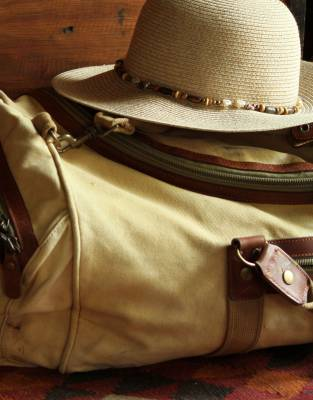 Never leave your hat behind! It's a safari essential for protecting your face and neck from the harsh African sun.