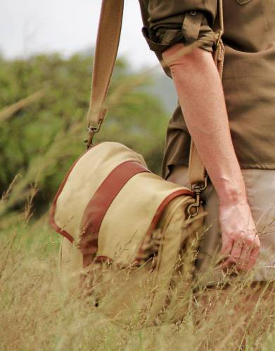 Inspired by one of Africa's most iconic explorers, the Selous Satchel is the ultimate safari bag