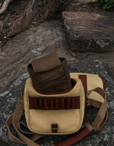 The removable padded insert is great for protecting cameras and other sensitive equipment while you are out on the trail or fighting through crowded streets. Remove the insert to open up and use the satchel's cavernous interior.
