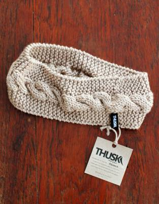 Handmade in Africa to keep you warm - and warm your heart at the same time - the Thusk™ Knitted Headband is made with love as part of a community project to support a group of artisanal women in South Africa