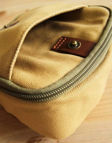 A small open pocket is useful for carrying your pet's vet documents, leash, or your mobile and keys.