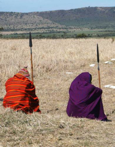The African blanket, commonly known as the Maasai shuka is a traditional wear associated with the Masai people of East Africa.