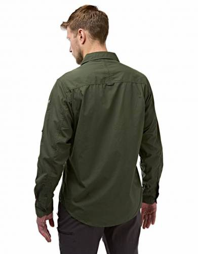 Made from NosiDefence fabric with built-in sun protection, this shirt is designed to keep you comfortable and protected from insects and the sun during outdoor travels and activities.