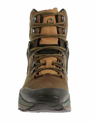 These hiking boots are made tough for your adventures. Metal hooks and lacing eyelets provide secure lacing for optimum support, comfort, and fit