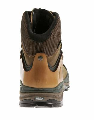 The full-grain leather upper is durable, comfortable, and offers robust ankle support for hours on the trail.