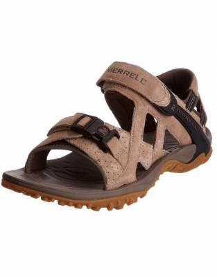 These Merrell Sandals combine sandal construction with walking shoe capability. Comfortable and aerated, they also provide excellent traction on steep hills or in rivers.