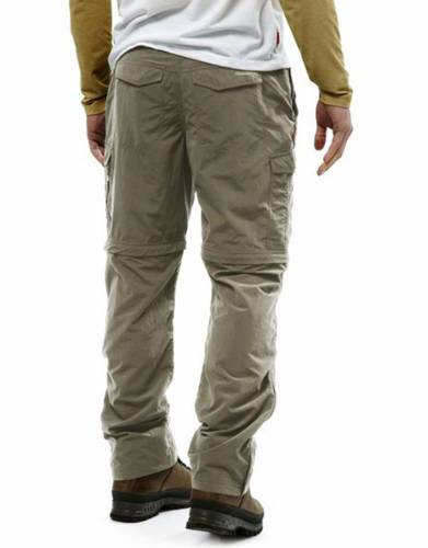 These zip-off trousers have nine pockets, including two zipped pockets, for convenience on safari and any outdoor outing.