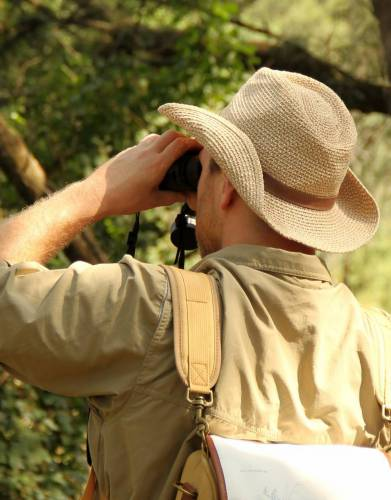 Life happens outdoors. Look great while it does. This hat is made from 100% paper braid with a soft suede band for optimal style on safari, birding and hiking trips.
