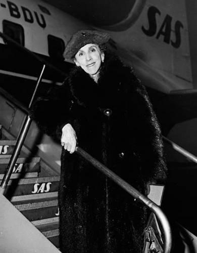 Karen Blixen, 1957