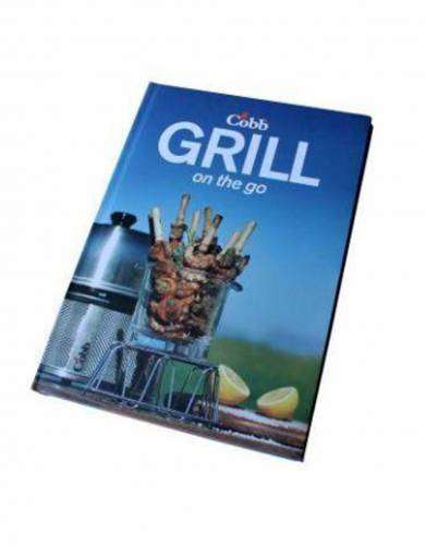 Your Cobb comes with a 'Grill on the Go' recipe book for exciting meal inspiration from simple snacks to full roasts and baked treats.