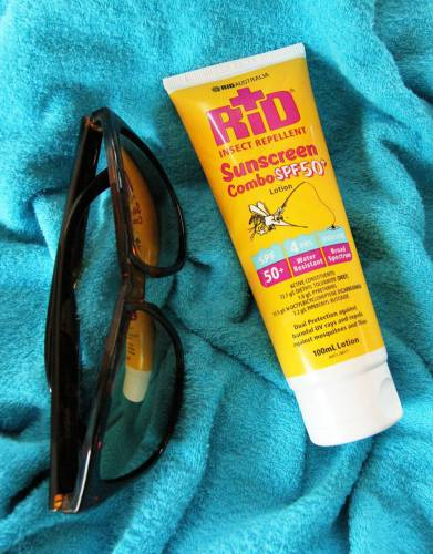 Grab a Kikoy towel, a pair of sunglasses and head to the beach - knowing that you are protected from the sun and biting insects.