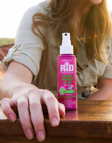 Don't let mosquitoes ruin your love of the outdoors! Keep RID at hand to prevent bites (for export outside of the UK and EU only).