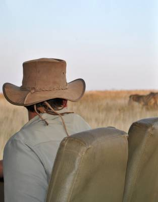 On the back of open game viewers, the Rufiji™ Leather Safari Hat gives much-needed protection from the sun when you are out and about in the wild.