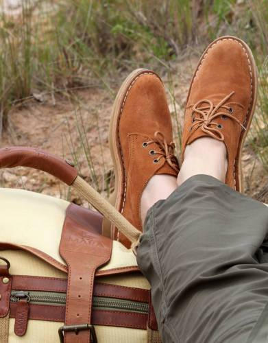 Put your feet up on safari with these classically stylish shoes