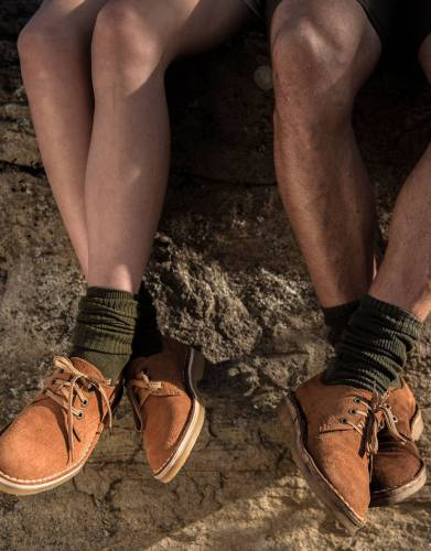 For men and women, this supple, hardy footwear is suited to work, city life, safaris, and outdoor pursuits