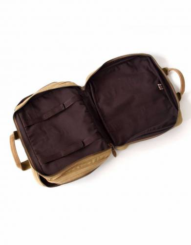 The fully-lined interior and internal laptop straps safely secure most laptop models for peace of mind on your daily commute and for your travels.