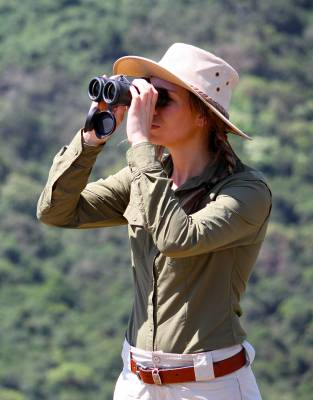 Binoculars are arguably the top must-have safari item. View Africa's wildlife sensitively by not getting too close and staying away from their teeth, paws, and claws.