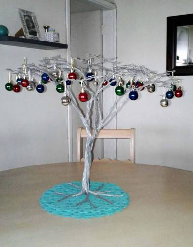 Christmas tree by Leila Morton-Venton (2016)