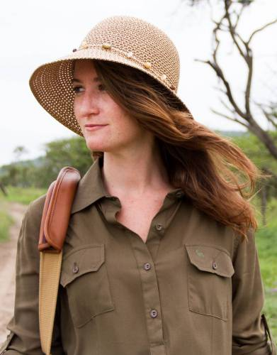 The feminine style and bead trim makes this hat stylish, while the wide all round brim and close knit weaving allows for ultimate sun protection