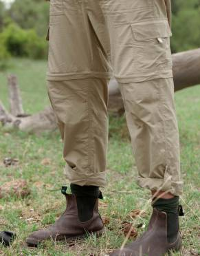 These convertible men's safari trousers come in our lightest BUGTech™ anti-insect fabric yet - with a soft hand feel for real comfort. Three garments in one, packing light is easy with these safari pants.
