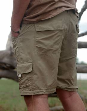 Whether worn as trousers, three-quarters, or shorts, enjoy six pockets - including two back pockets, two hand pockets, and two cargo pockets.