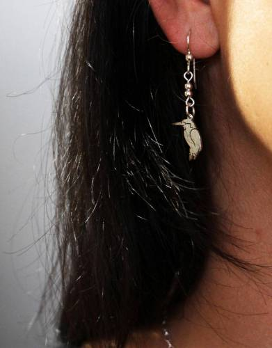 These dainty earrings will add a touch of Africa to any outfit.