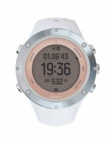 The Multisport GPS watch with mobile connection designed for women.