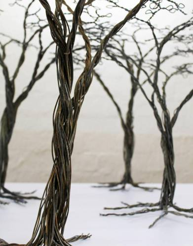 Every wire tree means less snare wire out in the wild - and is a beautiful African artistic creation.