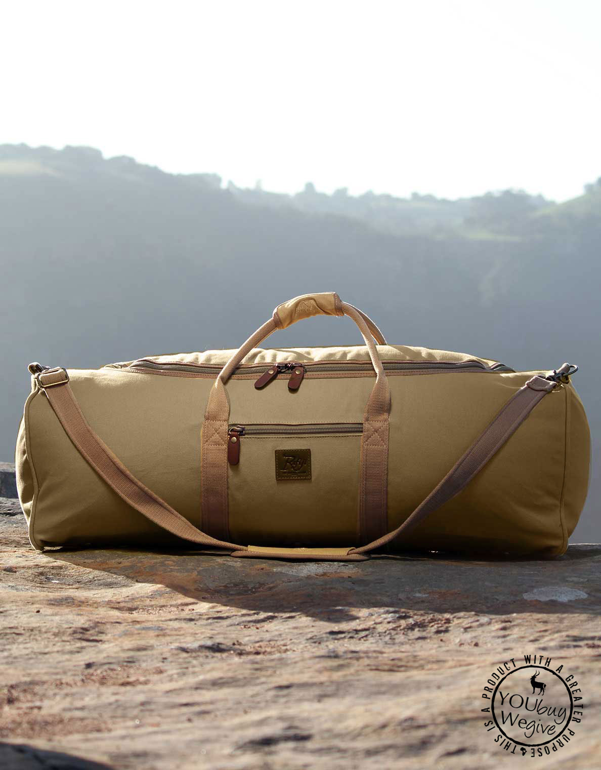 Large holdall to pack your gear in for the Okavango Delta.