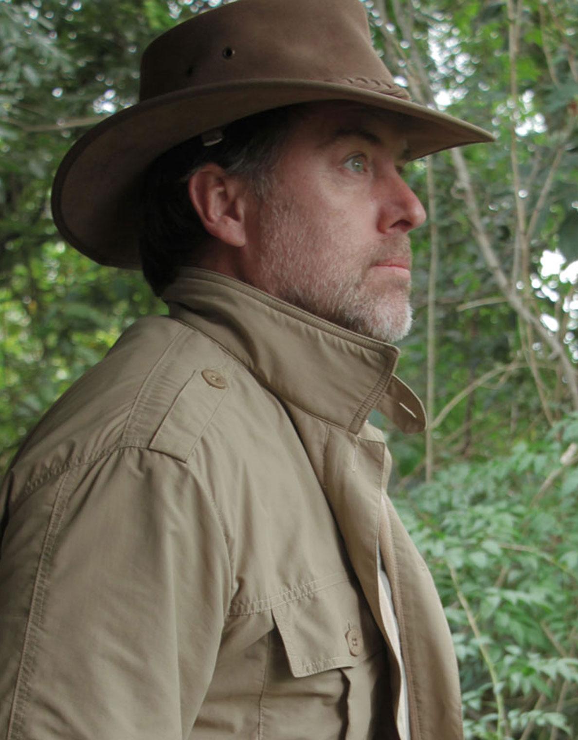 Leather Rufiji Safari Hat - pack it for the Okavango Delta.