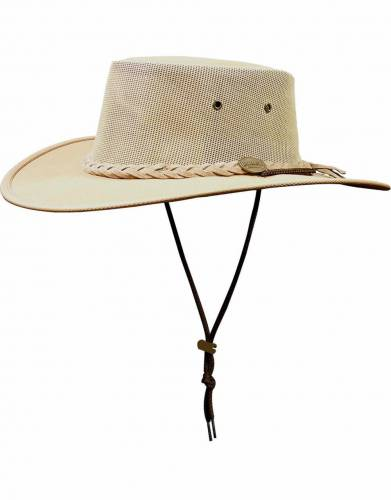 Barmah Squashy Canvas Safari Hat