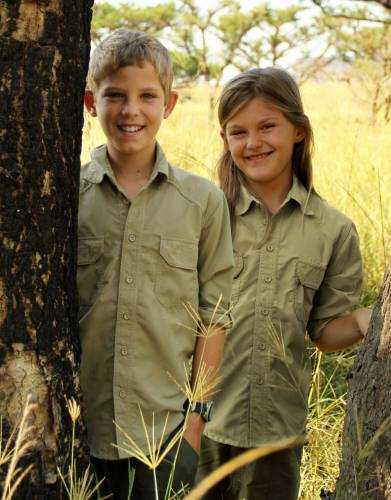 Boys' & Girls' Rufiji™ BUGTech™ Long Sleeve Safari Shirt