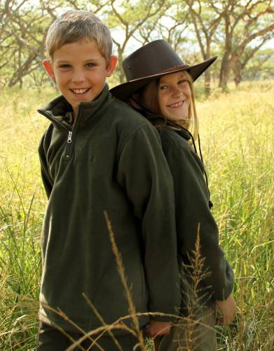 Boys' & Girls' Rufiji™ Long Sleeve Safari Fleece