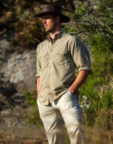 Men's Rufiji™ BUGTech™ SafariElite Long Sleeve Safari Shirt