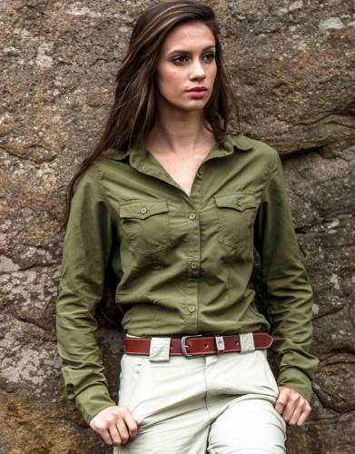Women's Rufiji™ MaraTech™ SafariElite Long Sleeve Safari Shirt