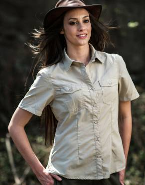 Women's Rufiji™ SafariElite Safari Shirt, Short Sleeves