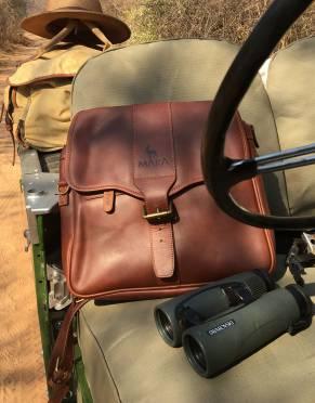 Limited Edition: Mara&Meru™ Full Leather Satchel & Pannier