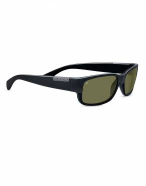Merano Black Serengeti Sunglasses