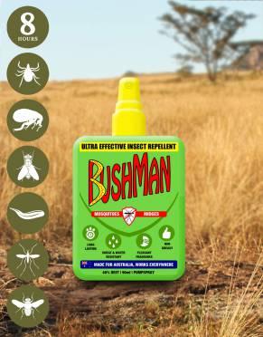 Bushman Ultra Insect Repellent Pump Spray