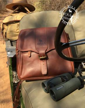 Limited Edition: Mara&Meru™ Full Leather 3-in-1 Safari Pannier Bag