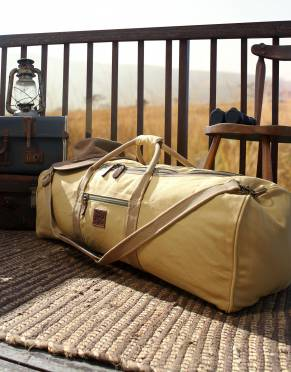 Traveller Canvas Safari Duffle Bag