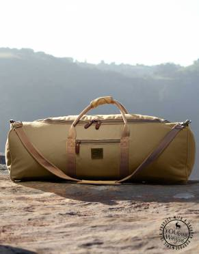 The Rufiji™ Traveller Canvas Safari Duffle Bag by Safari Store