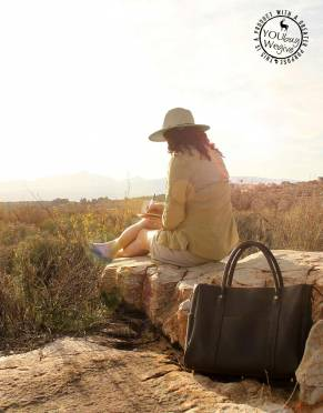 Women's Mara&Meru™ Leather Safari Companion Bag