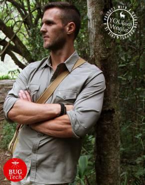 Men's Mara&Meru™ BUGTech™ Everything Safari Shirt